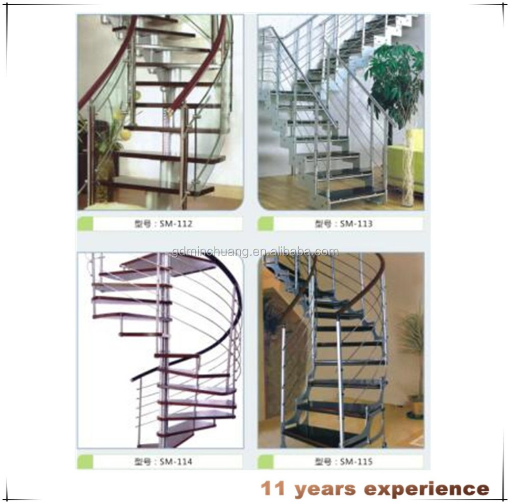 316 SS Material Spiral Stair For Sale