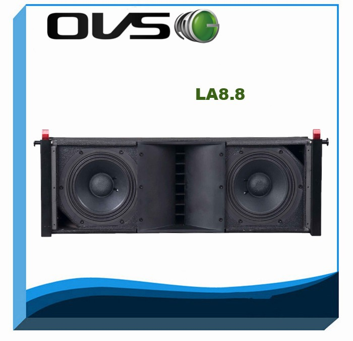 Dual 8inch 300w 16ohm Passive Line Array Speaker