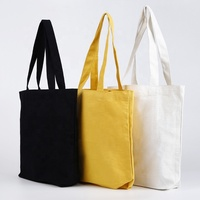 Large shopping custom heavy cotton canvas tote bag