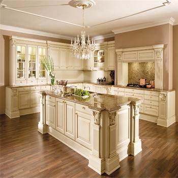 Kitchen Furniture Luxury Door Pull Handles Solid Wood Kitchen