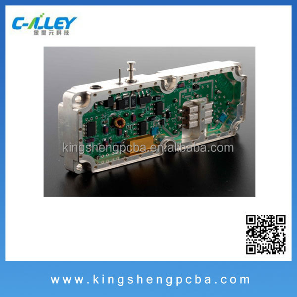Digital Electronics PCBA Contract Manufacturing, PCB Bare Board Fabrication and PCB Assembly with BGA