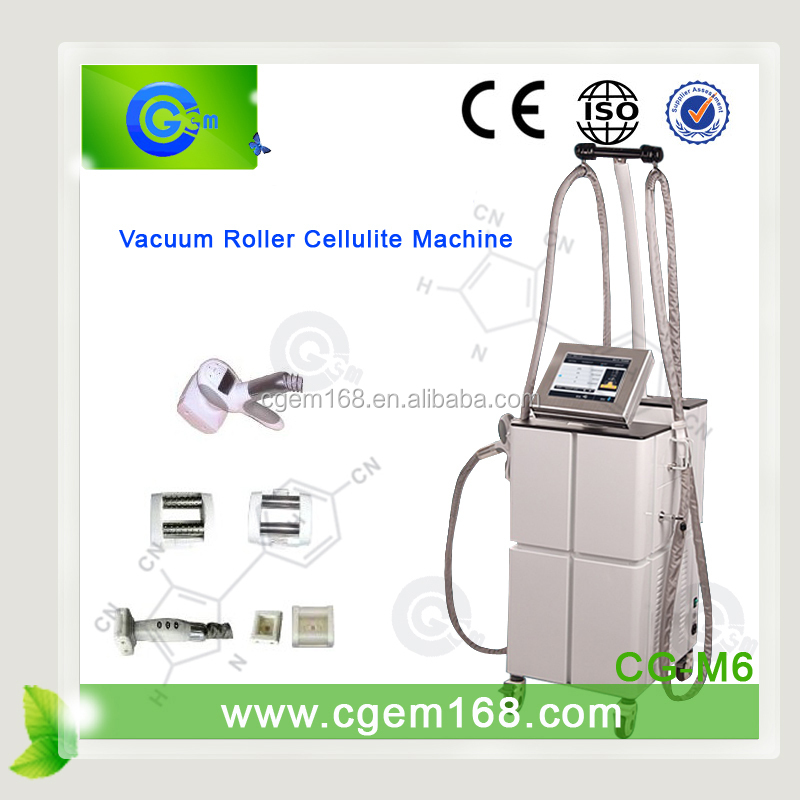 CG-M6 Update and high tech vaccum rf slimming machine for salon use
