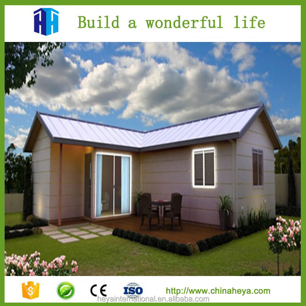 Low cost durable and tiny wooden decorate mobile house
