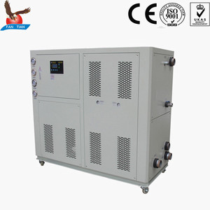 Hermetic Scroll compressor aquarium water cooled chiller cooling system with OEM color