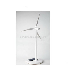 Desktop Solar Wind Turbine,Solar Powered Windmill