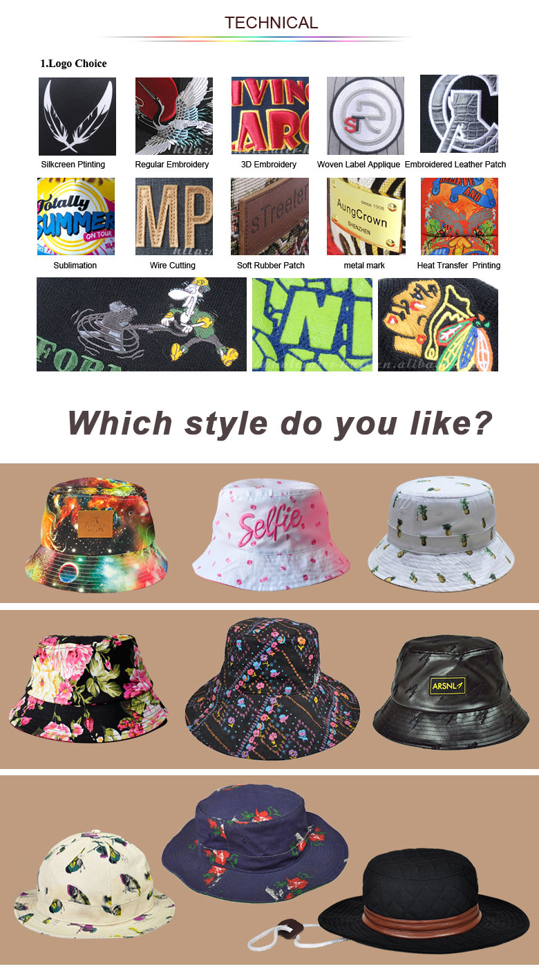 custom bucket hat logo,custom cool bucket hats,adult bucket hat