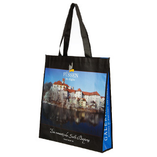 100% QC CMYK printing 120g laminated PP non woven shopping bag