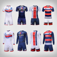 Wholesale bulk sublimation soccer uniform set china football shirt maker custom blank soccer jersey