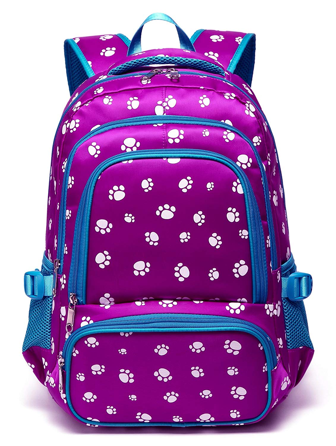 f8d781cfec3d Get Quotations · Kids School Backpacks for Girls School Bags Bookbags for  Children (Purple Blue)