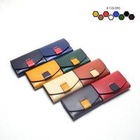 Retro Style Genuine Leather 9.8*6.8cm Card Holder Gift