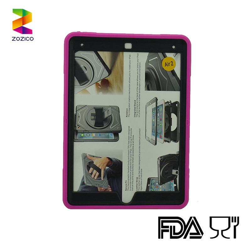 For Ipad air 2 Hybrid Functionable Tablet case integrated stand for Men