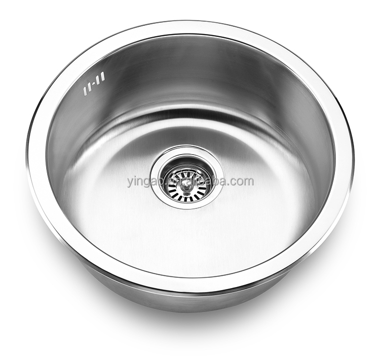 Undermount stainless steel stylish Russian style kitchen fancy stainless steel sink