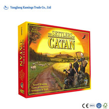 Hot Sale Custom Printing Catan 5th Edition Board Game
