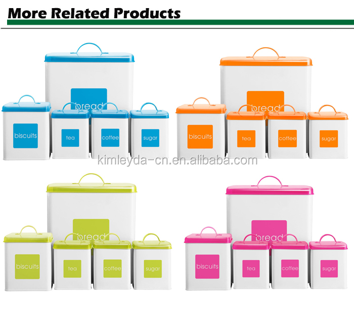 Kitchen Storage Box/Bread box/coffee/tea canister