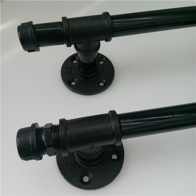 Black Iron 3//4 inch NPT pipe Tee