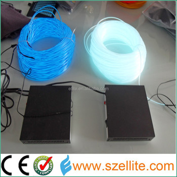 2017 High Brightness Flexible Muti Color Decorative Lighting Electroluminescent EL Wire