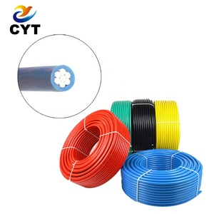 IEC standard 10mm2 single core pvc insulated electrical aluminum cable wire