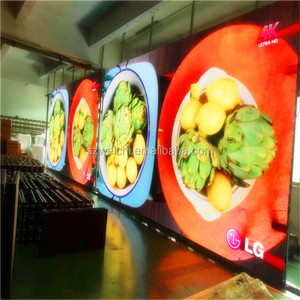 outdoor digital signage bus led display screen 3in1 p10 rental led display vedio