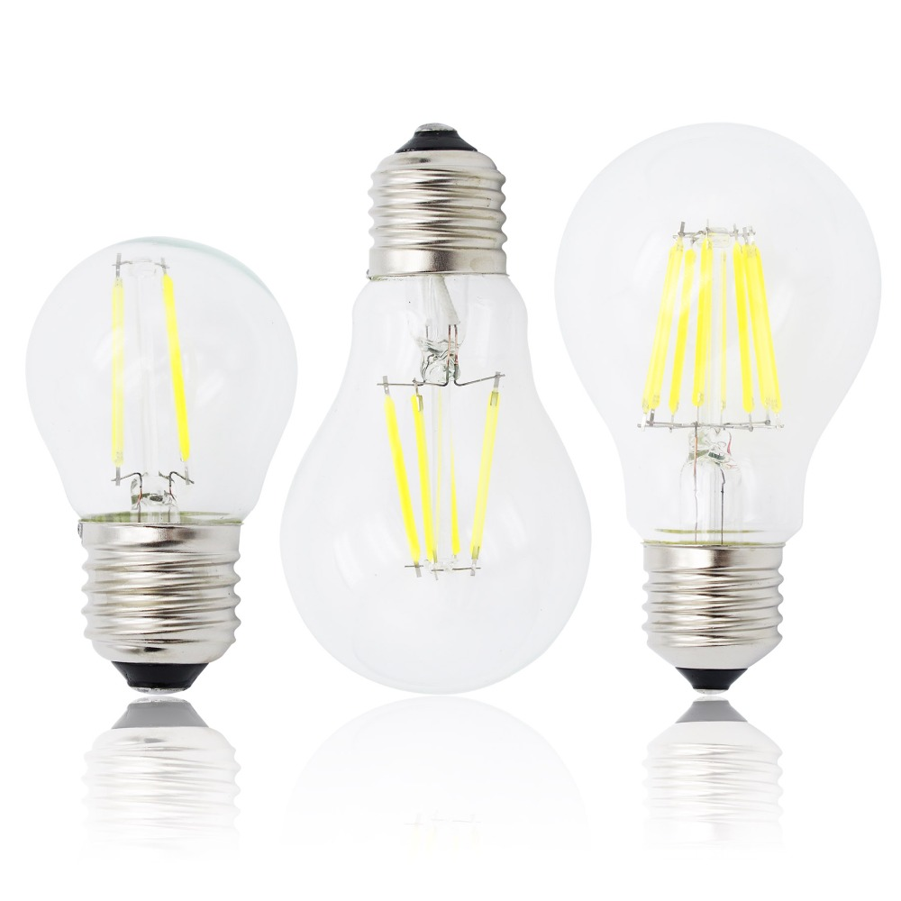 e27 lamp a60 led filament dimmable 4w 8w 12w 16w g45 retro glass edison 220v bulb replace. Black Bedroom Furniture Sets. Home Design Ideas