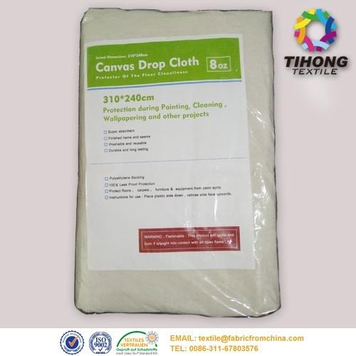 newstyle 8oz cotton drop sheet fabric