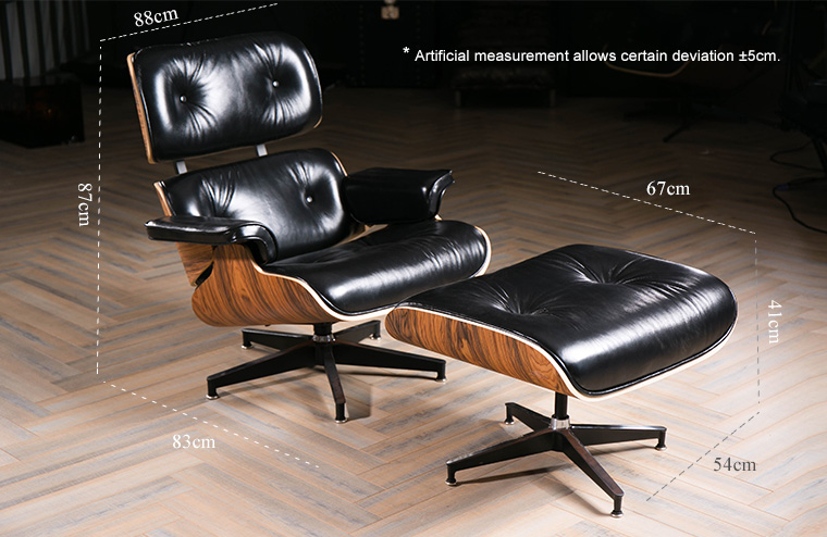 Home relax used style black leather chaise lounge for Black leather chaise sale