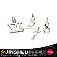 metal zinc alloy wholesale roman number charms
