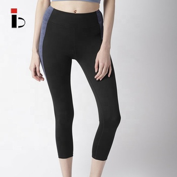 China manufacturer wholesale high quality rapid dry women black blue gym leggings