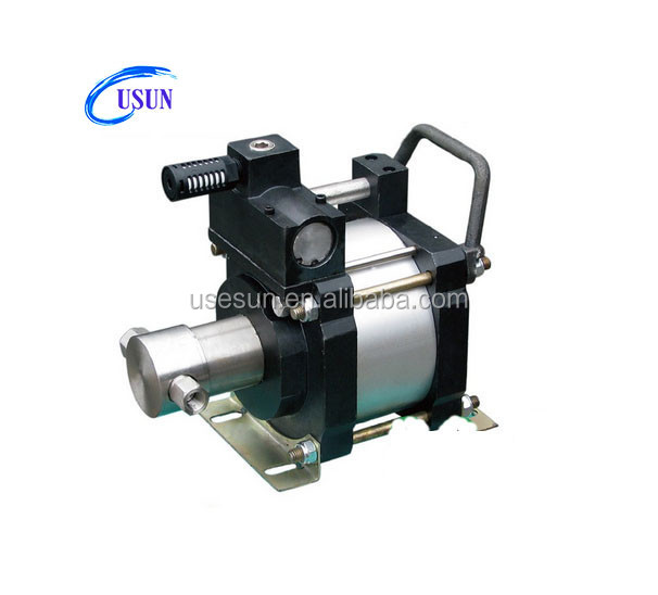 Hot sale USUN brand Model: UG40-CO2 40:1 pressure ratio pneumatic driven liquid co2 booster pump for supercrital extraction