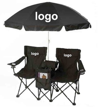 Outdoor Picnic Double Folding Chair