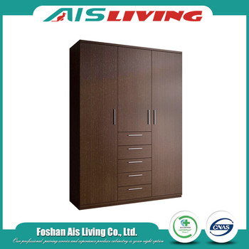 Custom Guangzhou Mounted Furniture Diy Wall Teak Wood Closet Clothes Wardrobe Cabinets