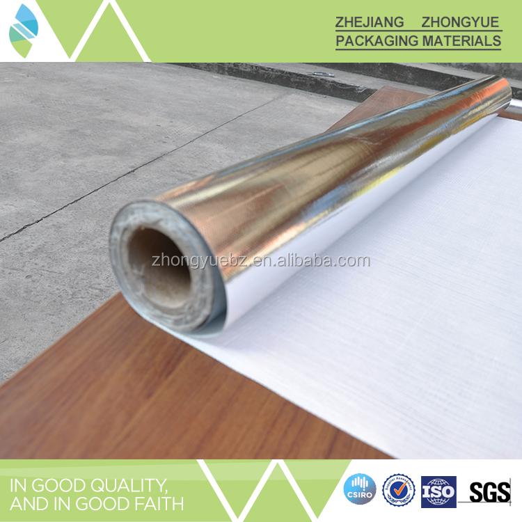 Resistente al fuoco vmpet calore foglio isolante in fibra for Fiberglass insulation fire resistance