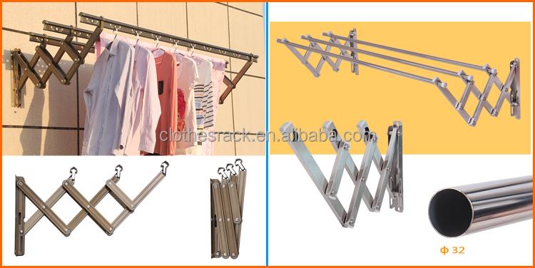 Erfly Floor Collapsible Folding Clothes Rack Elegant Design Metal Plastic Drying Shoes Hanger