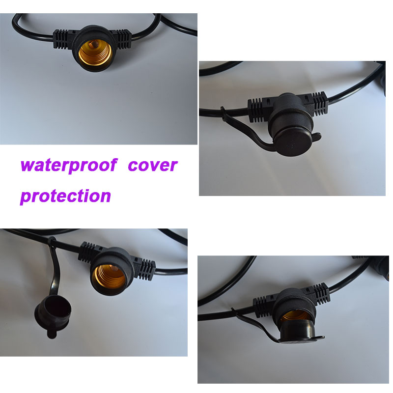 E26/E27 Base Australian outdoor waterproof led string light