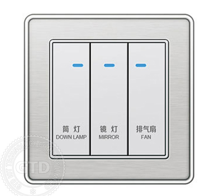 14b Series Luxury Hotel Room Control Panel,Personalized Switch ...