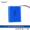 SunB656070 rechargeable battery pack 7.4v 1300mah li-ion power battery