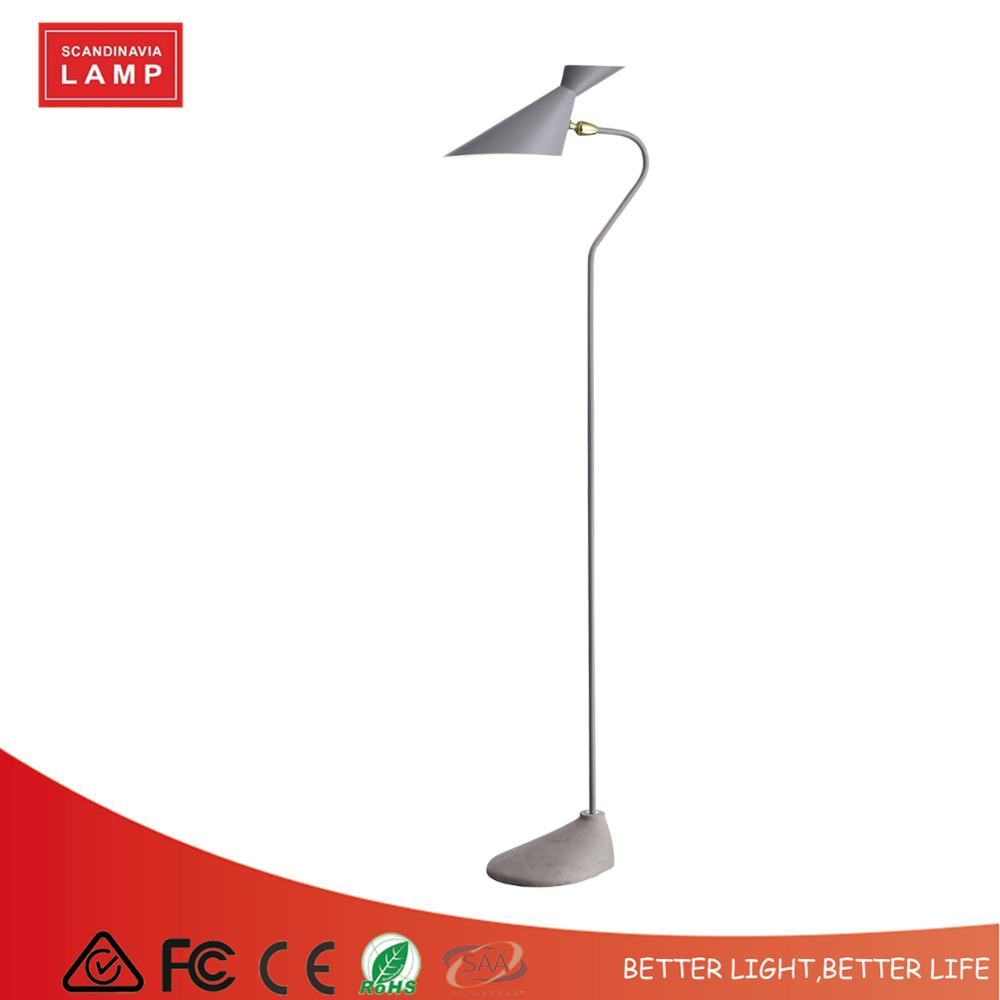 Modern Concrete cement Floor Lamp Standing Lamp Floor lamp for living room