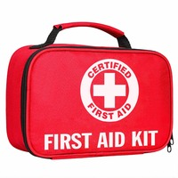 Top Selling KF762 120 pieces 2-in-1 Lightweight compact First Aid Kit for Emergencies at Home, Outdoors, Car, Camping