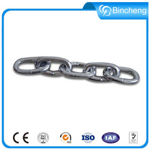 Welded ss316 Stainless steel square double link chain