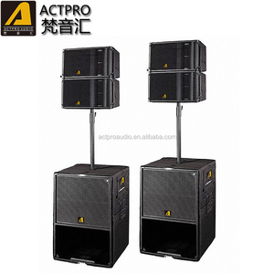 Active speaker A2 ACTPRO audio high quality modular line array system