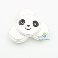 2017 China wholesale Panda hand spinner Metal Aluminum finger/fidget spinner toys for Adults kids