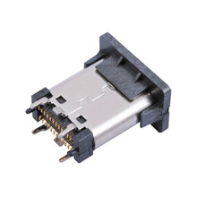 Type C Plug Socket 24Pin USB 3.1 Connector verticale smt Type-C <span class=keywords><strong>Vrouwelijke</strong></span>