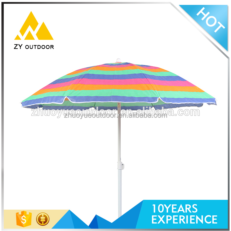 Manufacturer price commercial custom printing sun beach umbrella