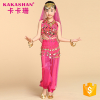 China Wholesale Professional Children Belly Dance Costumes For Kids