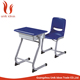New and cheap school furniture fixed single school desk and school chair
