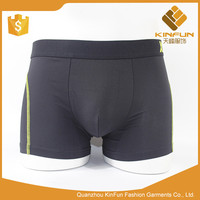 Competitive price custom cotton knitted man underwear breathable plain boxer shorts