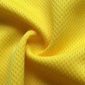 multi-color dry-fit and 100% polyester plain dyed birdeyes mesh fabric for sportswear