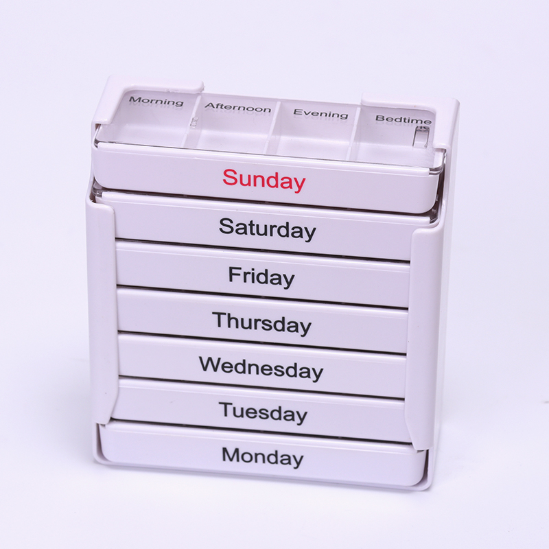 Storage Boxes & Bins 100% Quality Useful 28-slot Travel Pill Box Storage Weekly 7-day Medicine Container Holder Medical Storage Box Kit Living Supplies Hot