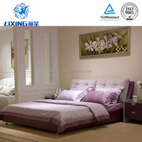 Modern Home Bedroom Furniture Wood Platform King Bed Frame