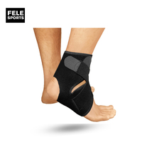Arch Supported Slim Ankle Compression Foot Sleeve Socks Men's Gym Training Sports Compression Sock