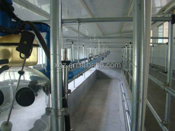 advanced automated constant temperature dairy farm sheds